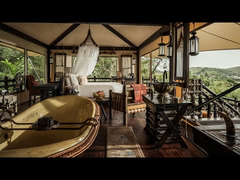Four Seasons Tented Camp Golden Triangle (Thailand): Full Tour