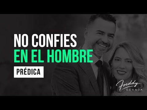 'La gente te va a decepcionar, no confies en el hombre'-Pastor Freddy De Anda
