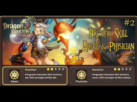 Dragon nest physician skill build level 50