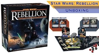 Unboxing Star Wars Rebellion