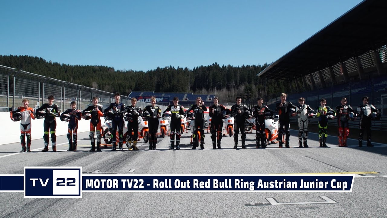 MOTOR TV22: Roll Out am Red Bull Ring des Austrian Junior Cup 2021