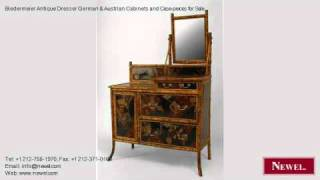 Biedermeier Antique Dresser German & Austrian Cabinets