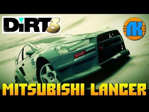 Dirt 3 \ Mitsubishi LANCER \ НА РУЛЕ LOGITECH G27 \ ЛУЧШИЙ РАЛЛИЙНЫЙ АВТОСИМУЛЯТОР !!!