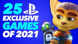 25 EXCLUSIVE PlayStation games coming in 2021 and beyond (PS5 and PS4)