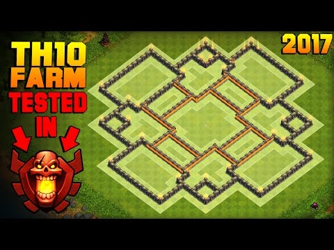 BEST TH10 Farming Base 2017 | Town Hall 10 Base TESTED IN CHAMPION LEAGUE + PROOF | Clash of Clans