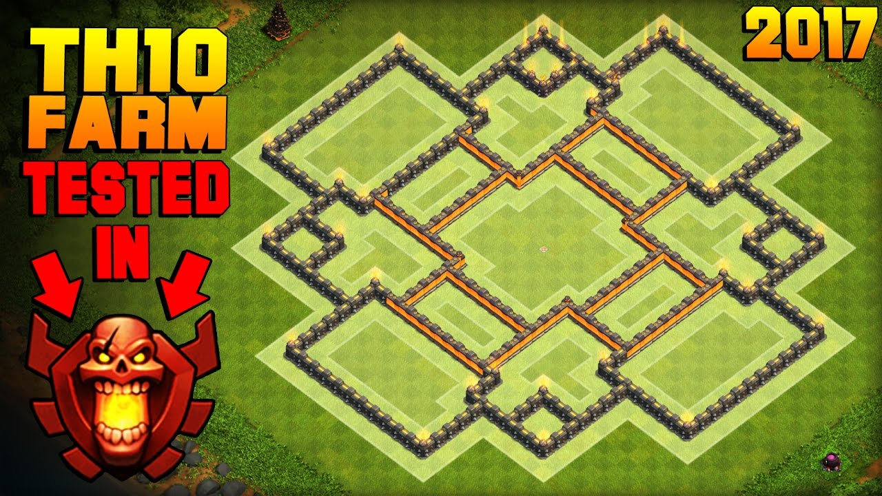 BEST TH10 Farming Base 2017   Town Hall 10 Base TESTED IN CHAMPION LEAGUE +  PROOF   Clash of Clans