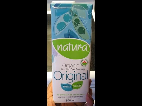 Natura Organic Fortified Soy Milk: Product Review