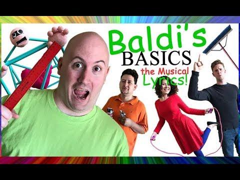 Baldi's Basics The Musical Lyrics