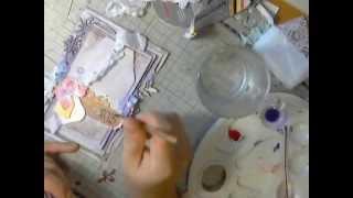 Скрапбукинг: Создание Новогодней открытки. Пошаговый мастер класс(Скрапбукинг: Создание Новогодней открытки. Пошаговый мастер класс ○------------------------{ Ссылки }------------------------○..., 2014-11-24T01:04:22.000Z)