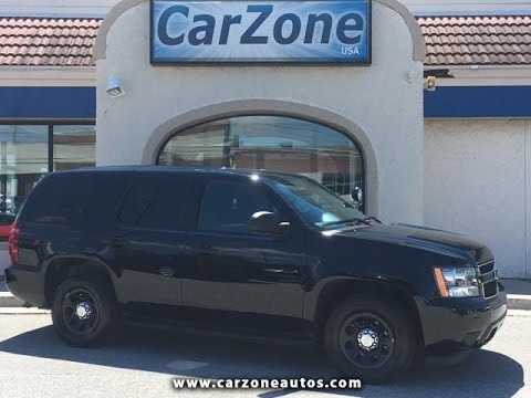 Used Police Tahoes For Sale >> 2014 Chevrolet Tahoe Police Used Suv Baltimore Maryland Carzone Usa