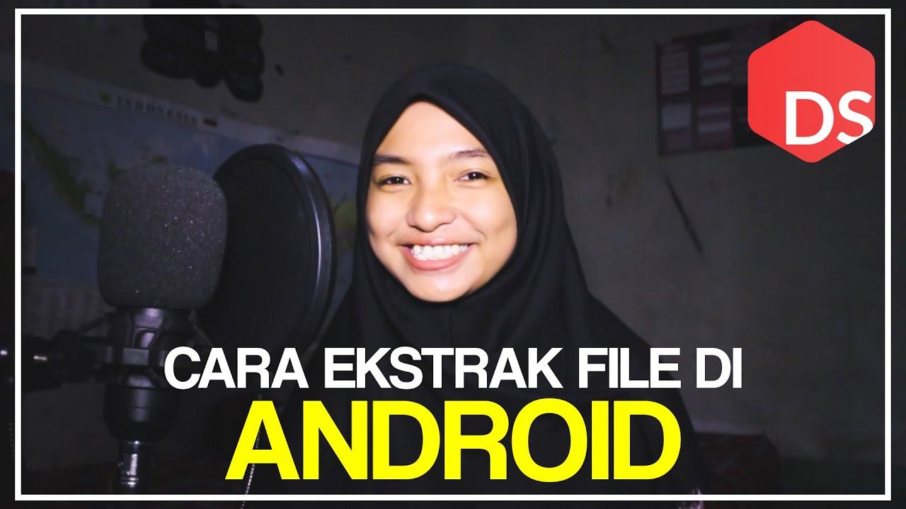Cara Membuka dan Mengekstrak File Rar  Zip di Android Dengan RAR for Android