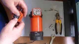 Ремонт автомобильного компрессора Агрессор.