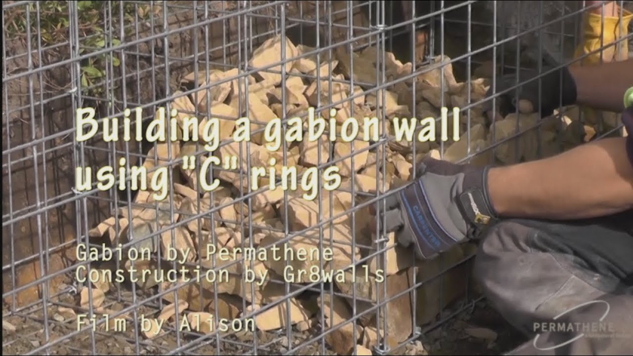 Gabion Wall Hogrings Youtube