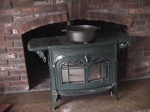 - Vermont Castings Woodstove - YouTube