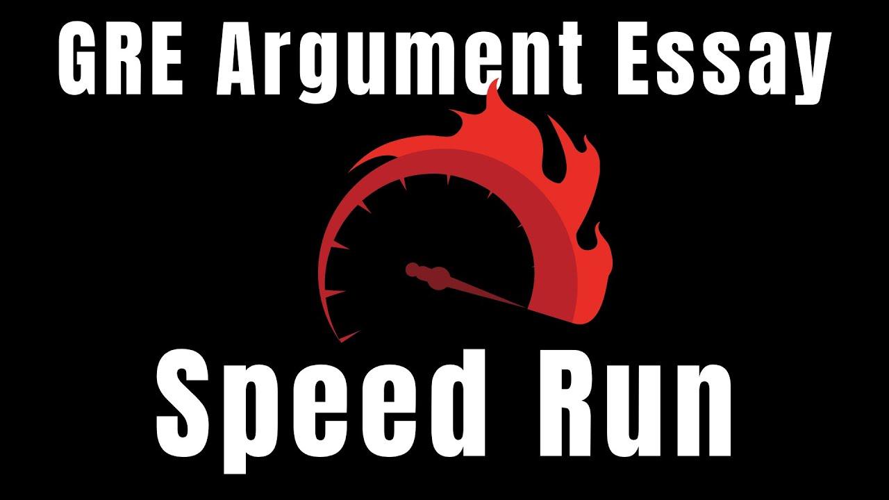 GRE Argument Essay