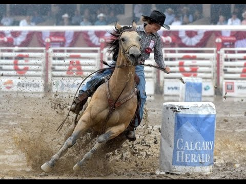 Barrel Racing 2016 Calgary Stampede Day 3