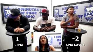 THE BAR EXAM Game Show Season 2 Episode 2 w/ Uno Lavoz, Jimz & Spee Dolla