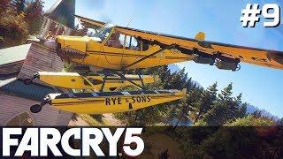 FAR CRY 5 Gameplay PL [#9] SUPER Pilot /z Skie