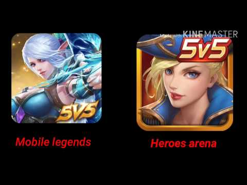 Mobile Legends Vs Heroes Arena