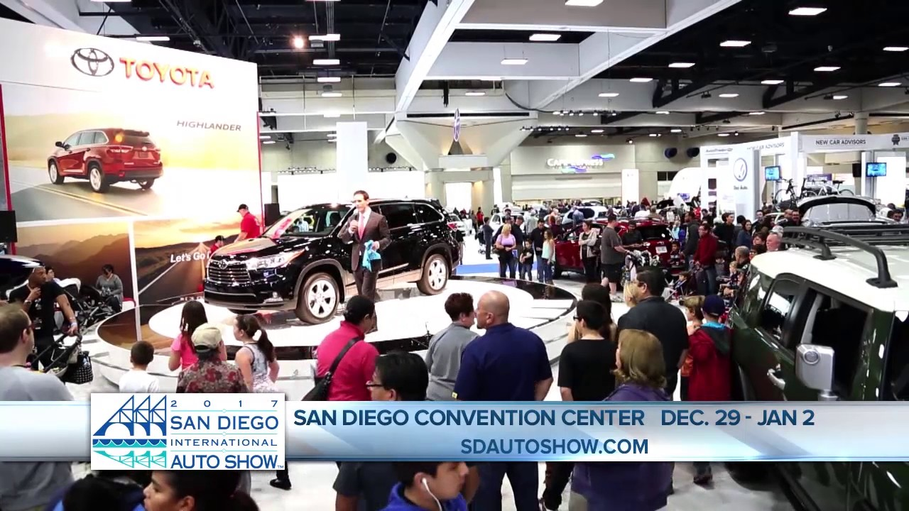 San Diego Auto Show On San Diego Connect KGTV News YouTube - San diego convention center car show