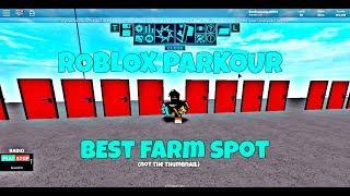 (ROBLOX) Parkour | The best farm spot 1k every 4-9 seconds|