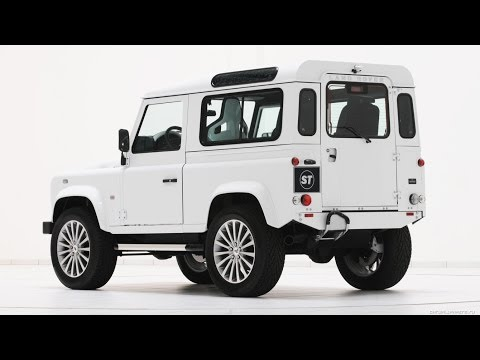 #620. Startech Land Rover Defender 90 Yachting Edition 2011 (Концепт и тюнинг)