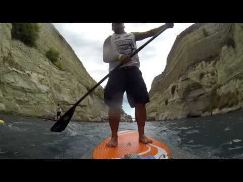 SUP  race Corinth canal  2014