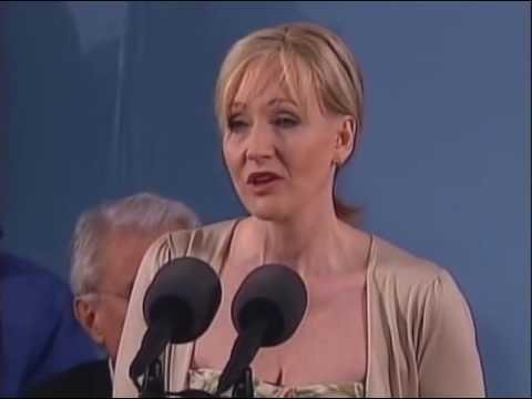 J K  Rowling Harvard Commencement Speech  ...