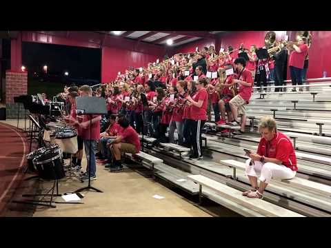 Shout It Out - Cabot Freshman Academy Band - September 7, 2017