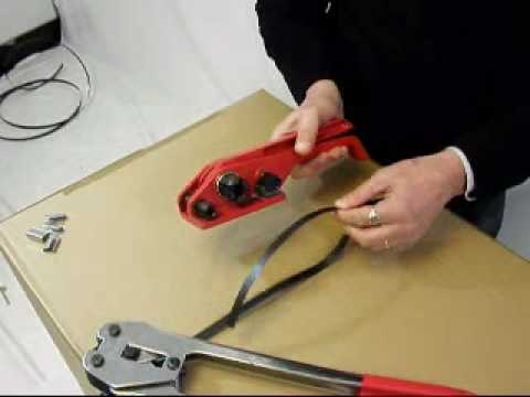 Using Pallet Strapping Tools Tensioners Amp Sealers Www
