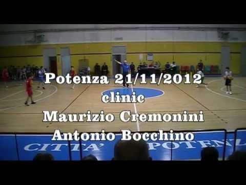 Clinic Potenza 21/11/2012 con M.Cremonini e A. Bocchino