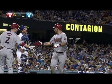 Parra's antics anger Dodgers - September 13, 2011