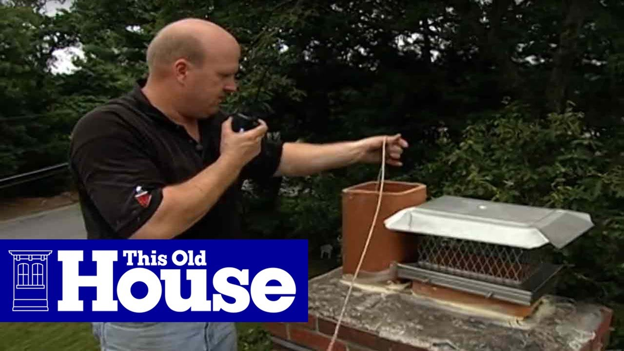 How To Re Line A Chimney Flue This Old House Youtube