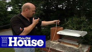 How to Re-Line a Chimney Flue | This Old House