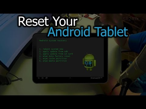 How To Reset Your Android Tablet
