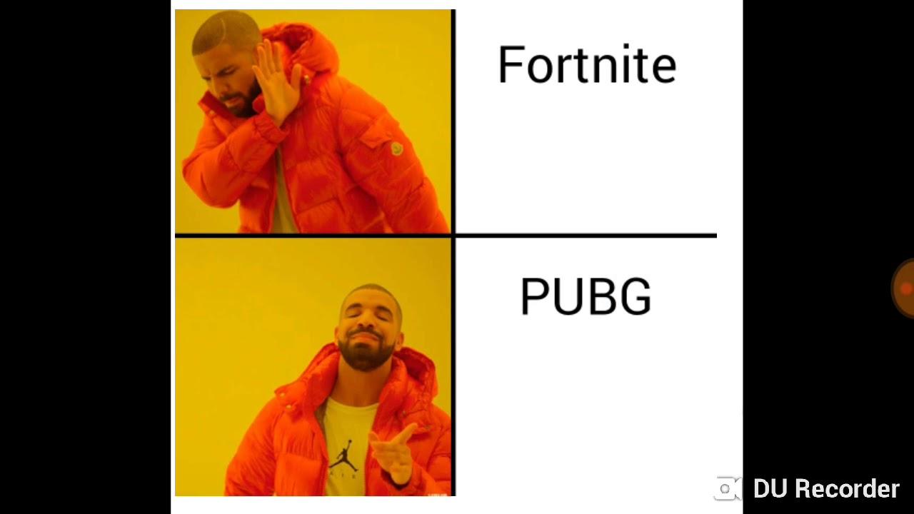 Pubg vs fortnite memes