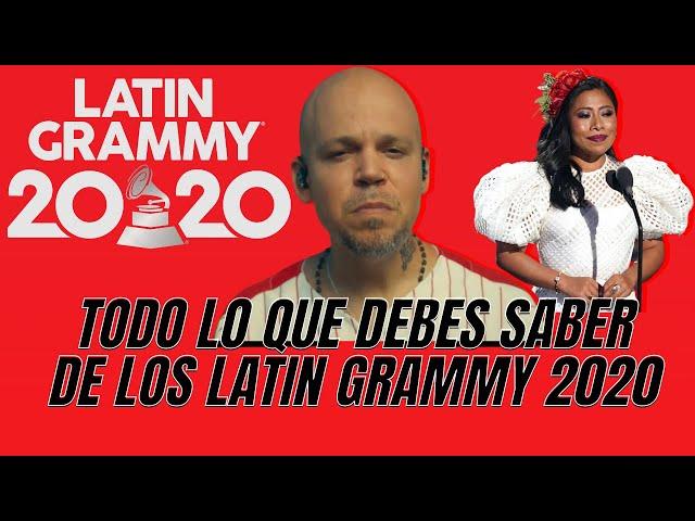 Ganadores del Latin Grammy 2020 y el poderoso discuros de Residente - El Aviso Magazine