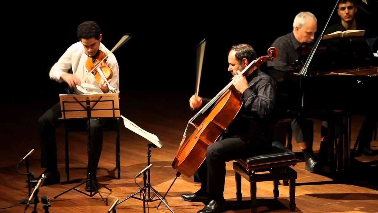 Mendelssohn Trio Op. 49 3/4 Rechtman Sussmann Hoffman