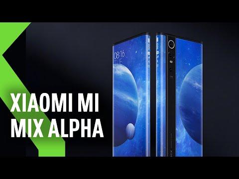 Xiaomi Mi MIX Alpha: la evolución de la PANTALLA CURVA era que ENVOLVIESE al propio móvil