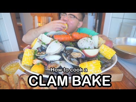 How to cook up a CLAM BAKE