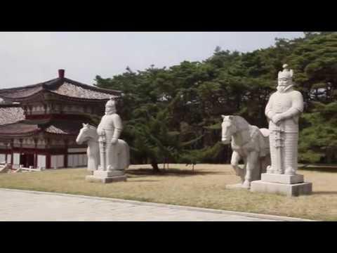 Усыпальница короля Тонмён, КНДР (동명왕릉, Tomb of King Tongmyong, North Korea)