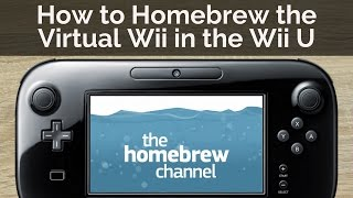 How to Homebrew the vWii in Wii U