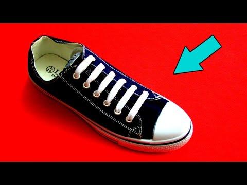 Как оригинально завязать шнурки на кроссовках