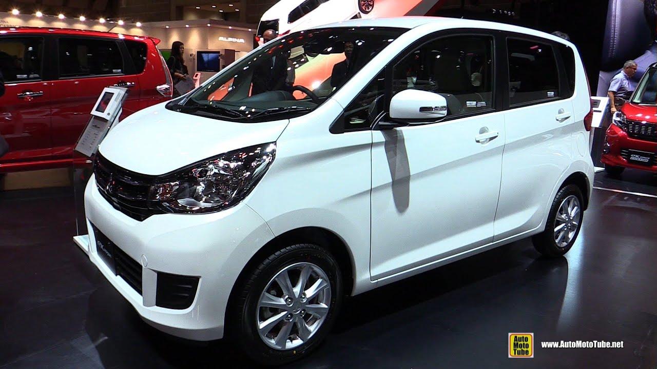 Suzuki Every Wagon Interior >> 2016 Mitsubishi EK Wagon - Exterior and Interior Walkaround - 2015 Tokyo Motor Show - YouTube