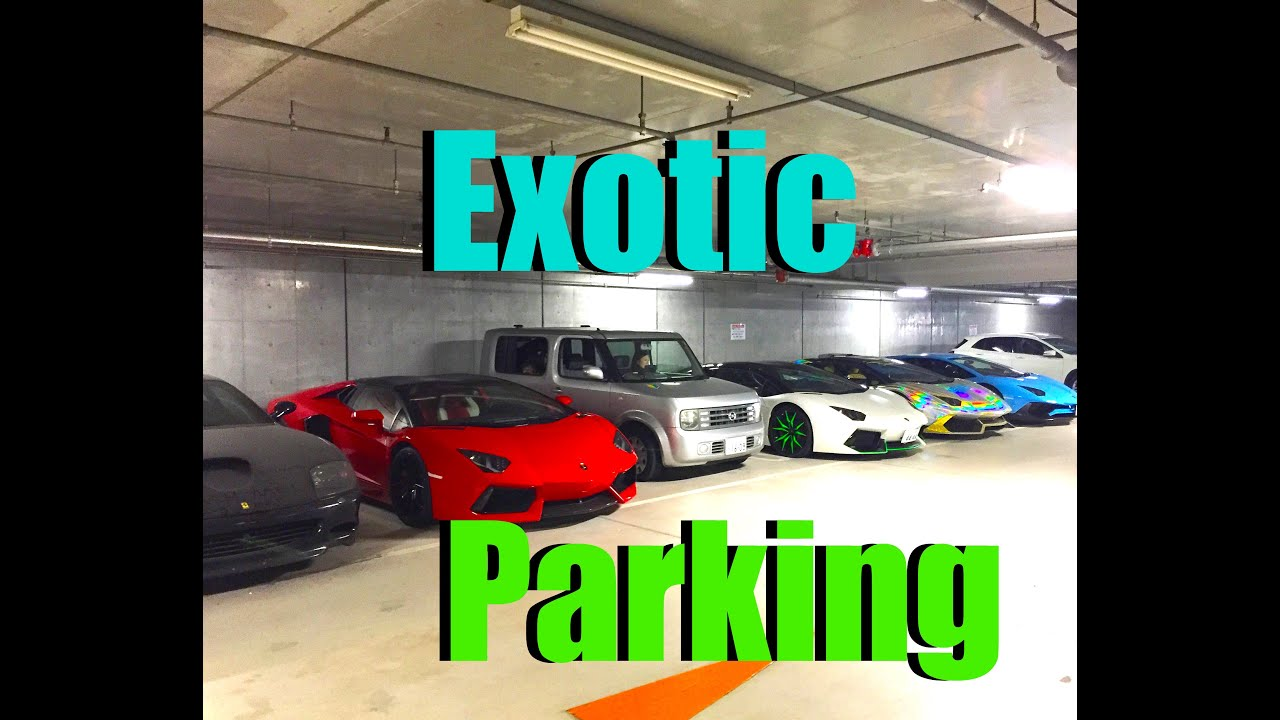 Crazy Tokyo Parking Garage Mind Blown