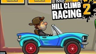 Hill Climb Racing 2 - Rarest Paint For SportsCar  | Max Upgrade | NEW Bodykit | Dark Roads Cup
