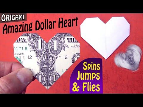 The Amazing Dollar Heart