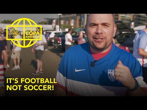 It's Football, not Soccer! | Lost at Copa America | Slash Football