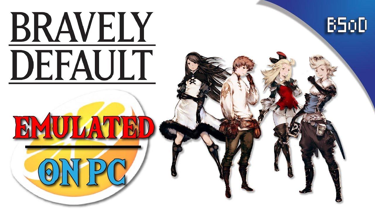 Emulated on PC | Bravely Default | Citra Emulator