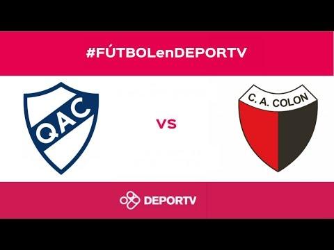 Colón venció a Quilmes como vistante en el estadio Centenario